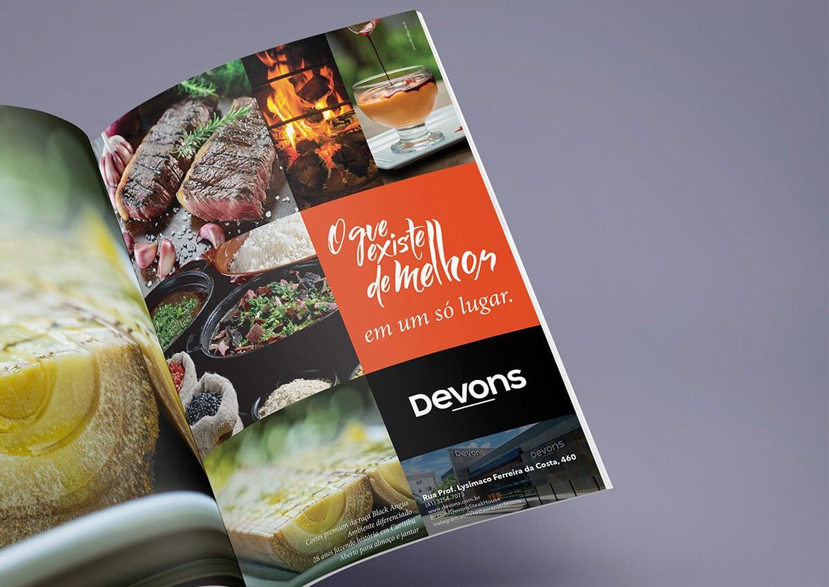 Devons Steakhouse – Publicidade