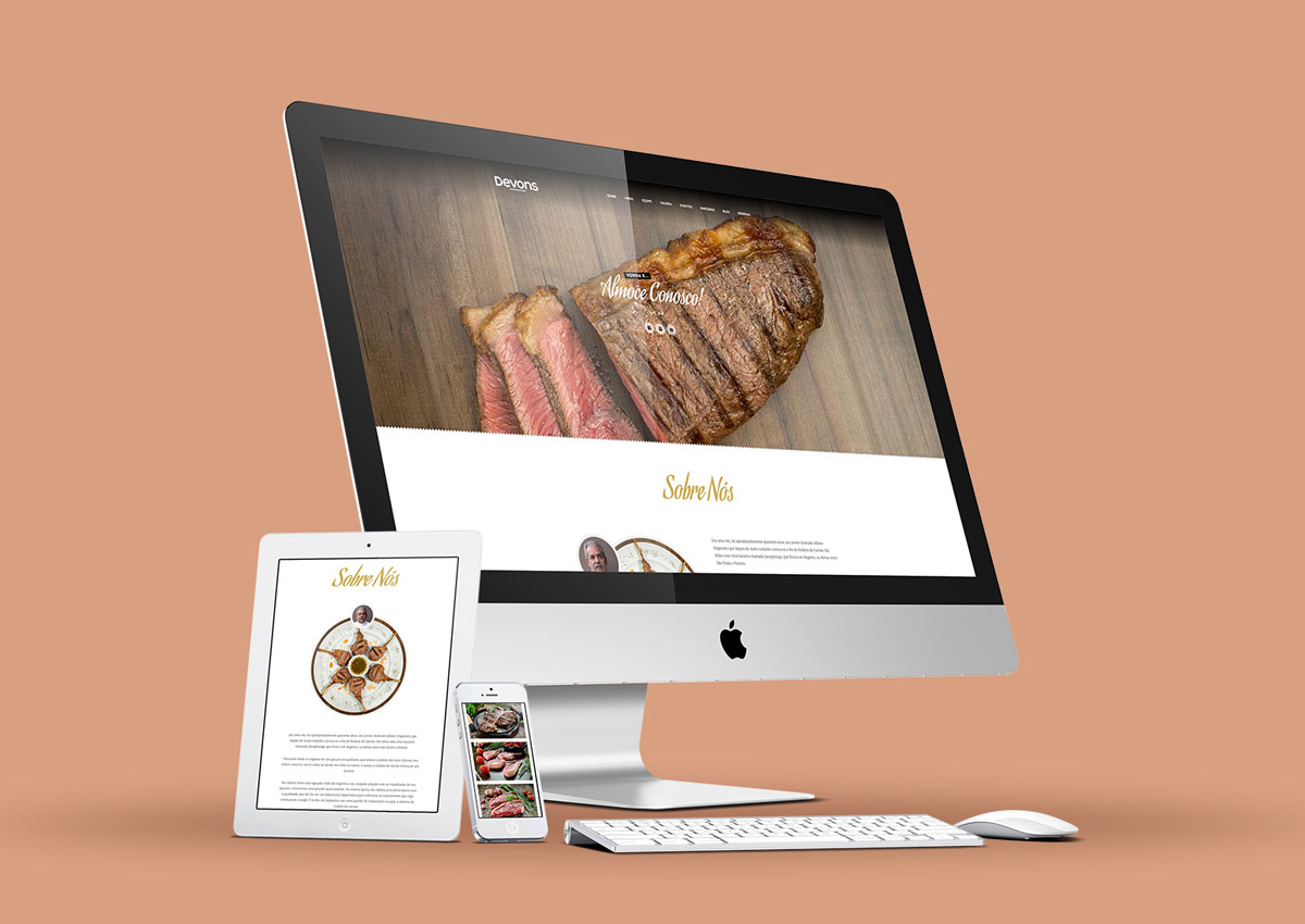 Devons Steakhouse – Website